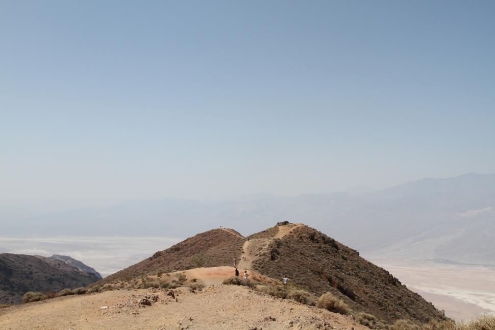 Dante's view, naar dit uitzichtpunt liepen we later nog