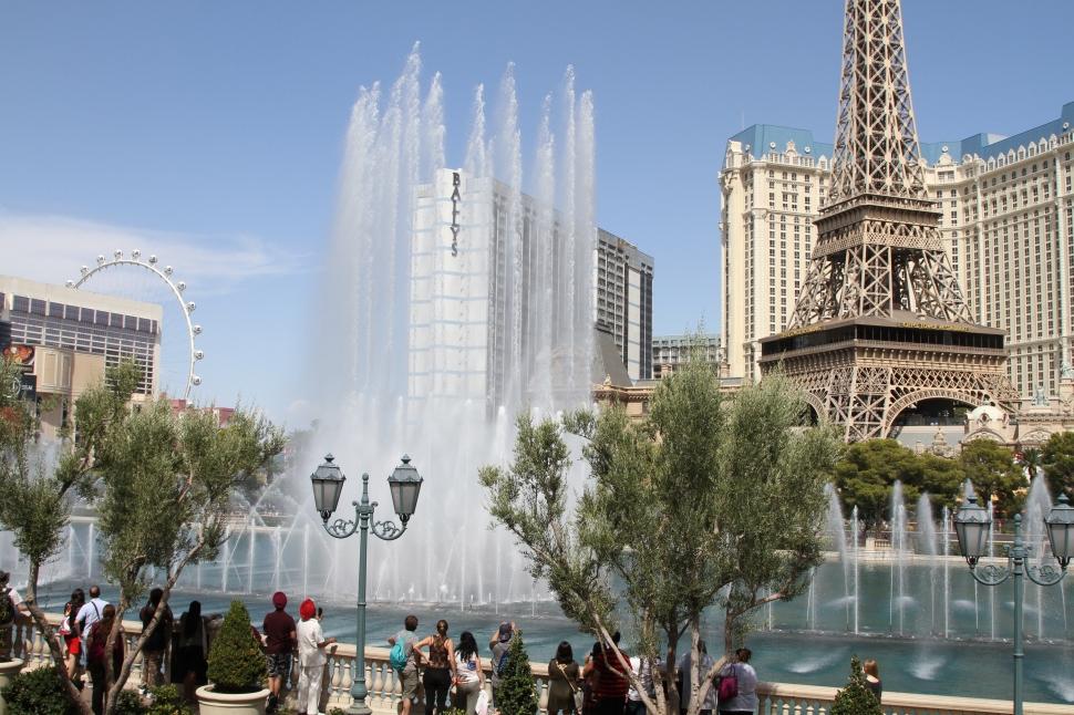 De fonteinen