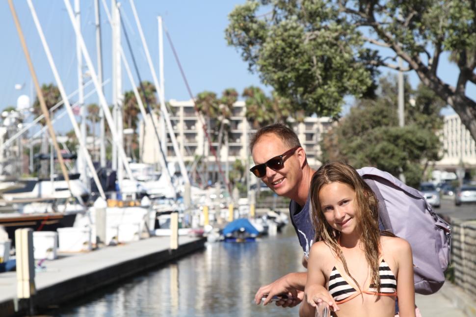 Alex en Mette in Kings Harbor