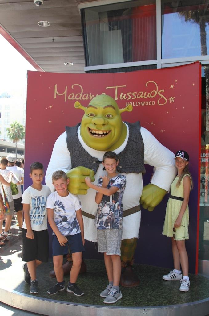Op de foto met Shrek