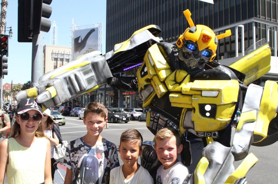 Op de foto met de Transformer