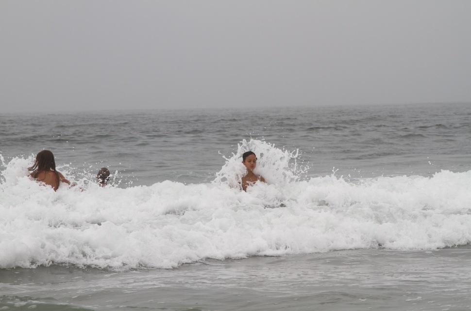 Finn in de golven