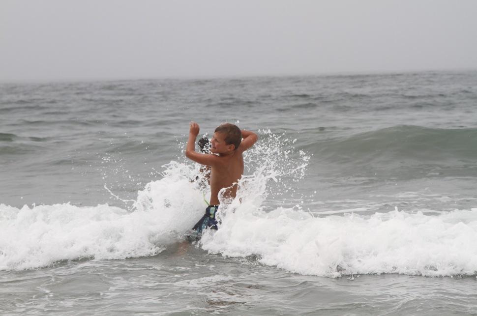 Loek in de golven