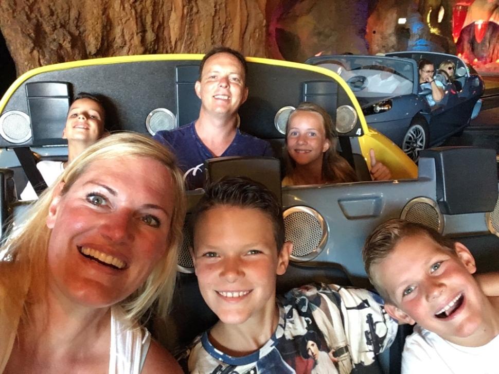 In de attractie Cars Radiator Sprins